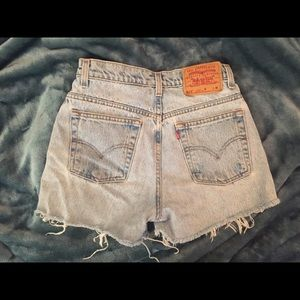 Vintage Levi's cut off shorts!